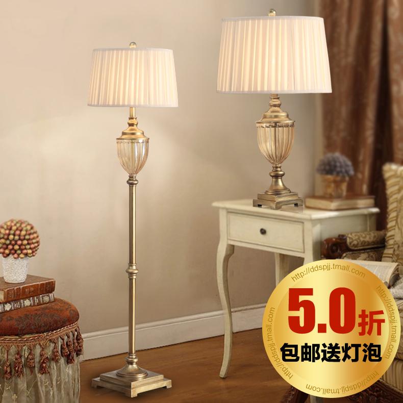 Living room bedroom in floor lamps from lights lighting on