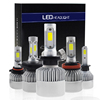 Auto lighting car conversion kit auto lighting system automobiles led bulb motorcycle H7 H4 led headlight bulbs led car lights