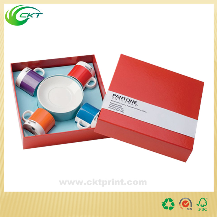 Custom tea cups paper packaging box for sale
