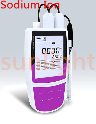 SL321-Na Portable Sodium Ion Meter, Na Ion Meter, Datalogger, USB function