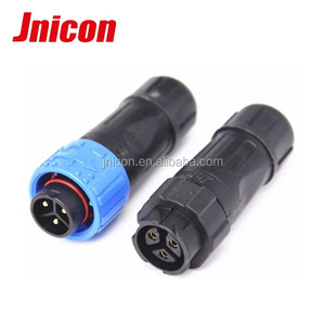 m16 3 pin terminal waterproof cable connector