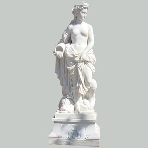 Natural Carved Onyx Marble Statues