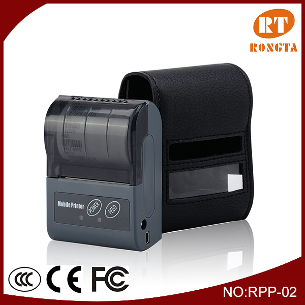 Rongta 58mm handheld mobile ticket printer with durable performance