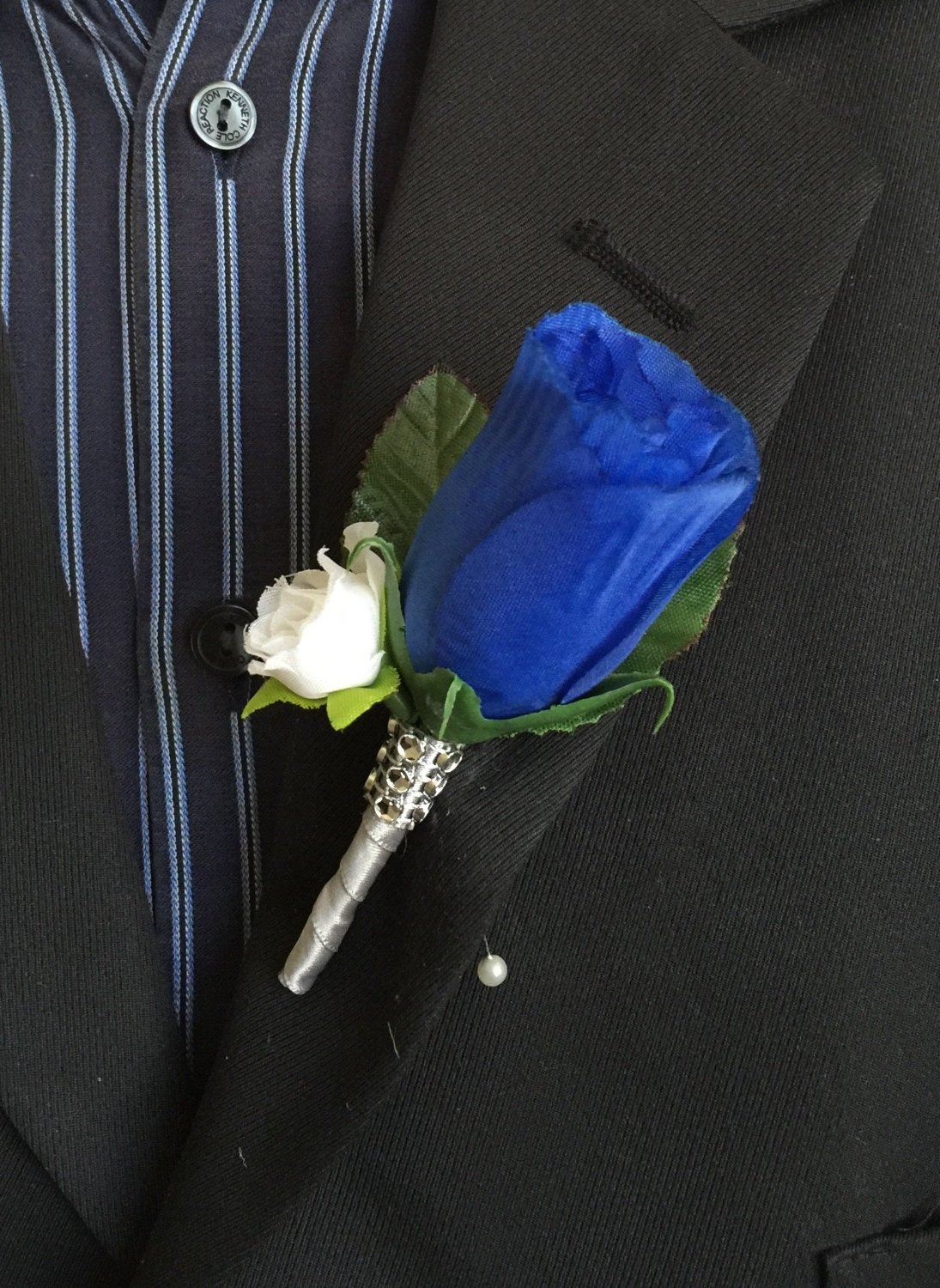 Cheap Blue Boutonniere Find Blue Boutonniere Deals On Line At