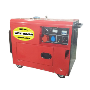 Single phase 2kw 3kw 5kw 6kw silent mini diesel generator portable price