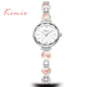 KIMIO Brand Women Bracelet Watch Stylish Lady Waterproof Japan Movt Quartz Wrist Watch
