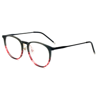 New Model Beauty Eyewear Frame Stainless and Acetate Spectacle Frames Eyeglasses Designer Eyeglasses