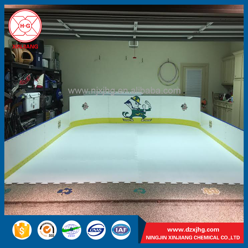 Polyethylene hockey rink fence wall at competitive price