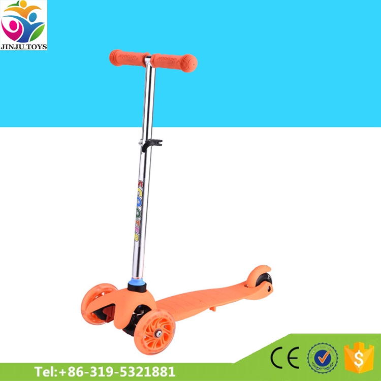 Best quality factory price vintage vespa children kick scooter for europe sale