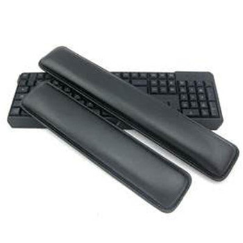 Hot selling pu leather rubber keyboard pad wrist