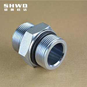 Eaton Standard 1C 1D Series Metric Male Bite Type Fittings Hydraulic Male Threaded Straight pipe fittings