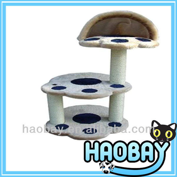 Special Decorative Paw Shaped Cat Scratching Tree
