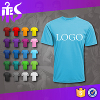 Guangzhou Manufacture OEM Custom Logo 200g 95 Cotton 5 Spandex Golf T Shirts