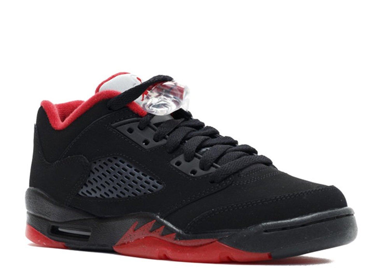 Tony Barnard Retro Basketball Shoe 63611742976 air jordan 5 retro low gs alternate 90 black gym red black mtlc hmtt 012364 2 Leather Basketball Shoes