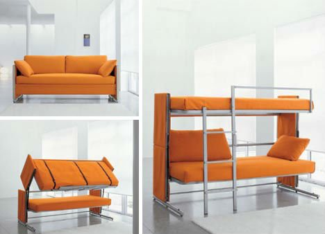 Convertible Couch Bunk Bed Furniture - Buy Bed Set Furniture ...