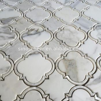 Waterjet Artistic Mosaic Tile Stone
