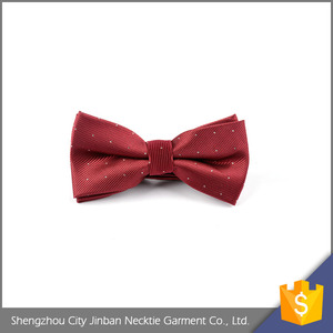 Good quality Adjustable Polyester bow tie clips wholesale