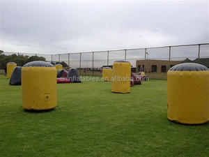 inflatable paintball bunker/ inflatable paintball obstacle/ inflatable paint ball field