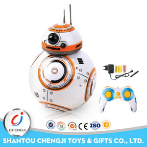 2017 hot selling multifunctional 8channel moving toy robot educational