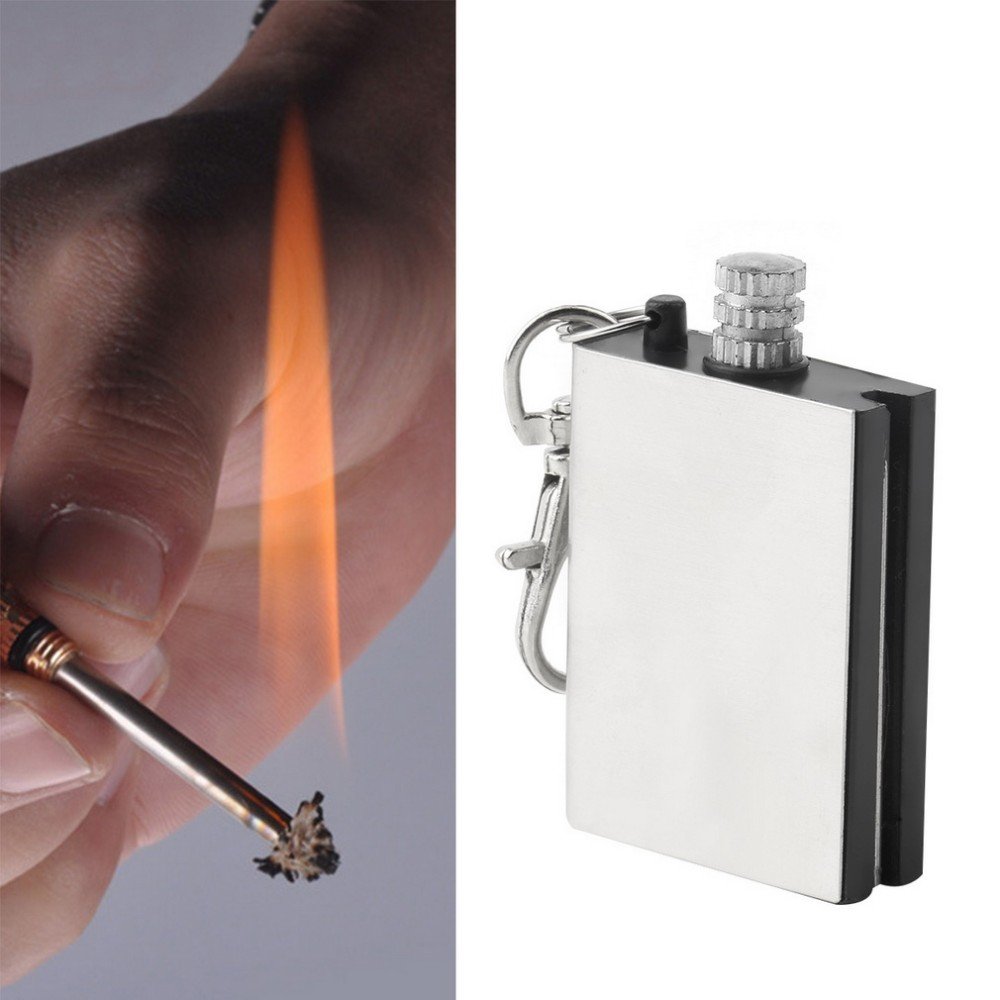 Emergency Fire Starter Flint Match Lighter Metal Outdoor Camping Hiking Instant Survival Tool Safety Durable hot