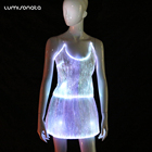 2018 Led skirt fashion light up club wear dress for sexy women sweety lady