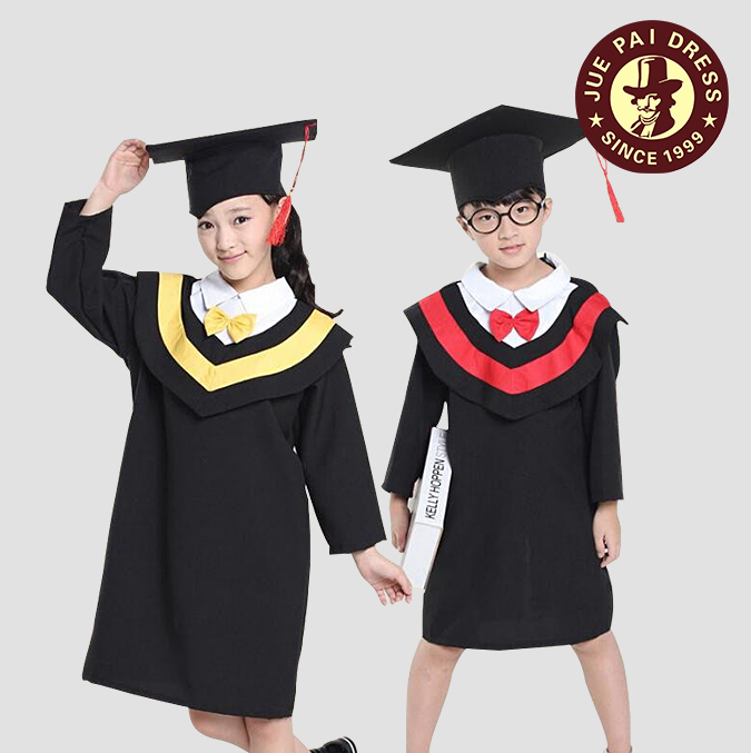 Custom Kids Preschool Graduation Gowns / Nice Boys Wearing Girls ...