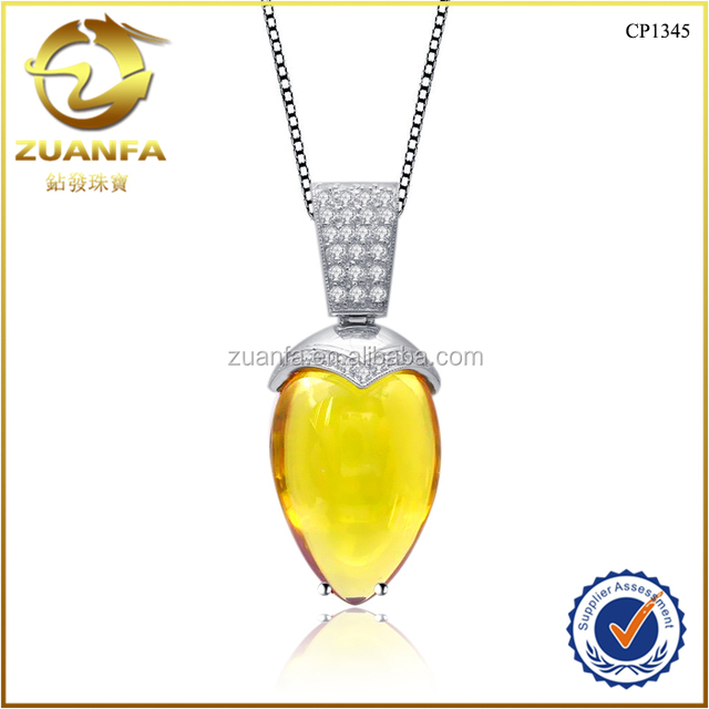 Buy cheap china golden topaz pendant products find china golden summer style fashion jewelry for women golden gemstone natural stone pendant aloadofball Images