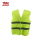 100% Polyester 120g Yellow Reflective Safety Vest