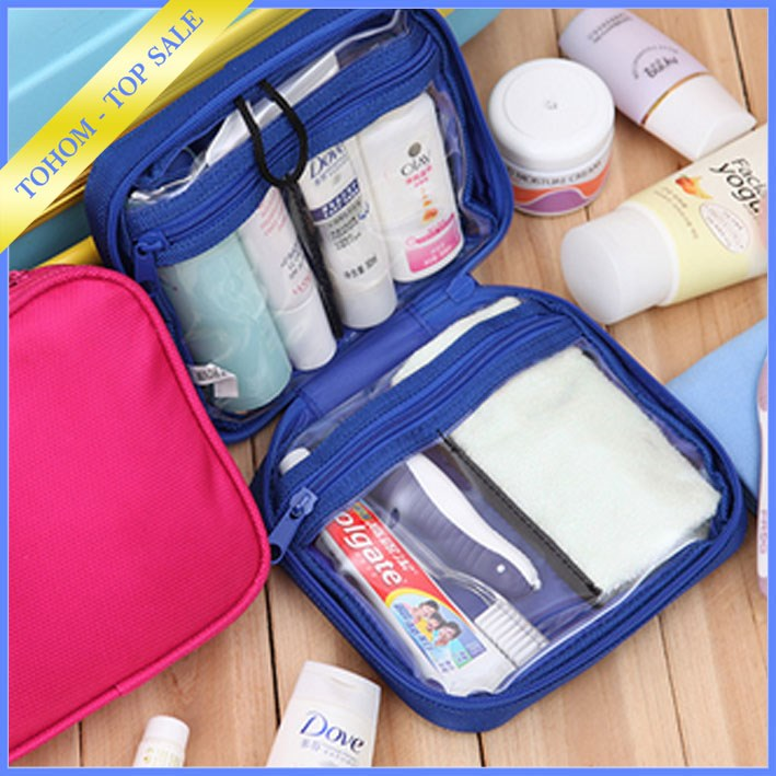 necessaire camping bulk custom printed cosmetic bag hot popular makeup bag professional