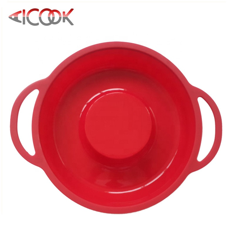 Thiết kế mới của silicone jumbo donut baking khuôn