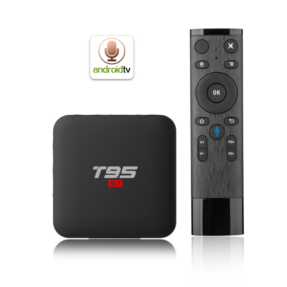 T95 S1 Amlogic S905W 1g/8g android tv box