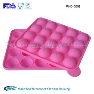 High quality chocolate mold , silicone lollipop mold,lollipop mould