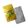Food safty aluminum foil laminated packaging medical herbs plastic zipper bag