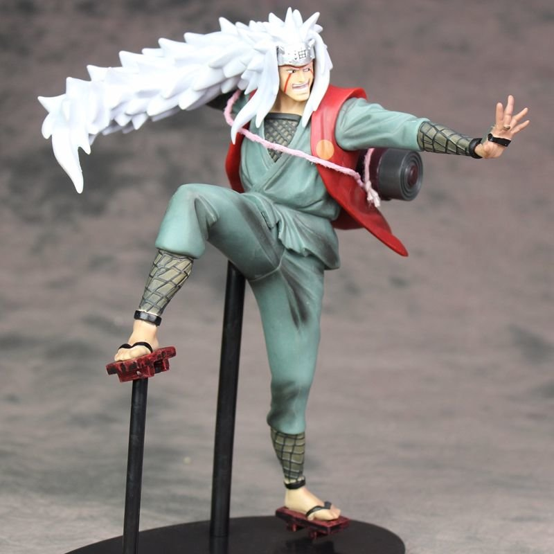 Jiraiya NARUTO PVC statue FIGURE Toy Gift New No Box