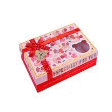 High Quality Gift Box For Cartoon Bath Towel Box Baby Shower Gift Box