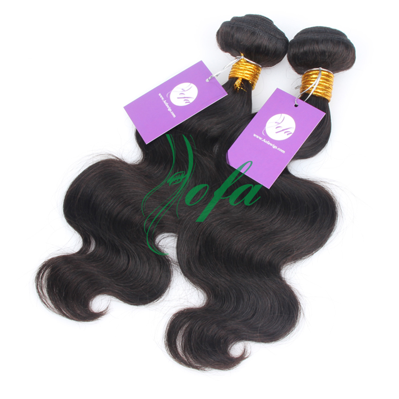 Tangle free 2pcs/lot 7A 100% unprocessed virgin remy malaysian hair weave