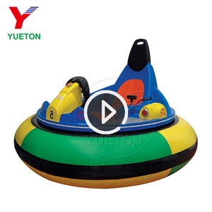 Hot Carnival Games Kids Amusement Rides Ice Bumper Cars