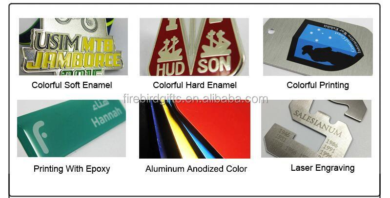 Logotipo personalizado de Alumínio Anodizado Forma Osso de Cão tag Pet ID Tags