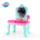 Wholesale plastic pretend play toy cosmetic set kids makeup with music