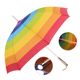 J Polkadot rainbow LED light handle activity prop umbrella