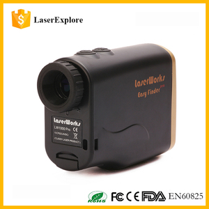1500m top quality warranty 12 months waterproof outdoor Hunting range finder Monocular