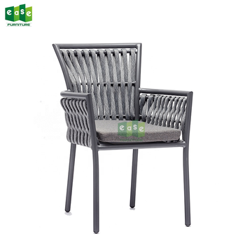 Hot selling outdoor garden rope series chair for restaurant-E1149