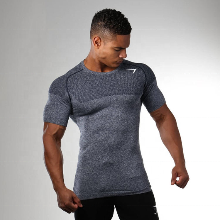 Custom Made Fitness Gym Compression Sports Mens Workout T Shirts