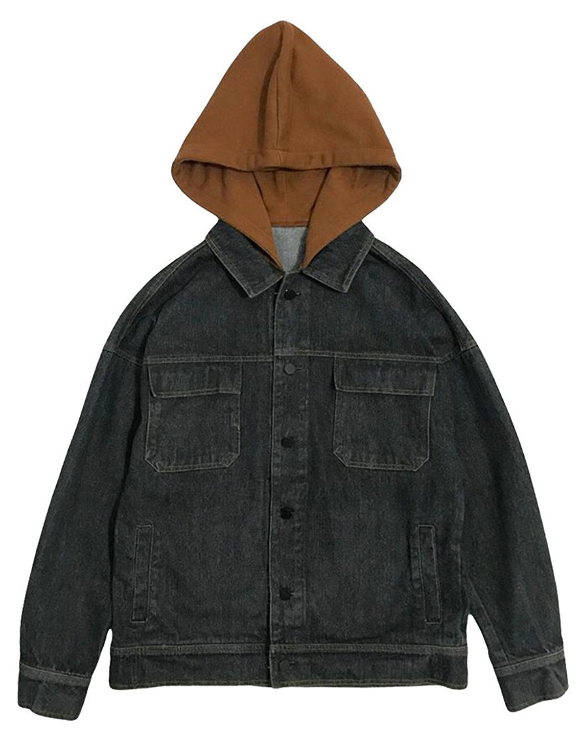 0d32031a8 Cheap Denim Jean Jacket With Hooded