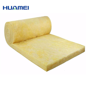 Glass Fiber Blanket Heat Insulating Materials High Temperature Glasswool Blanket Insulation Glass Wool For Oven