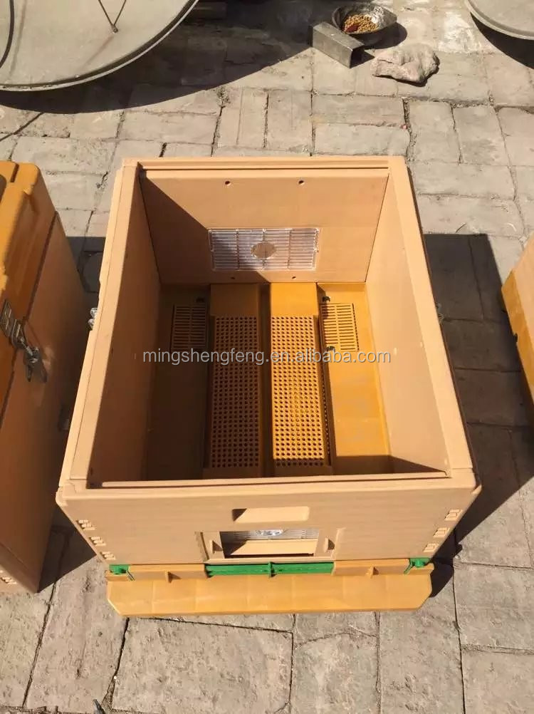 2016 New Apiculture Standard Plastic Thermo Beehive For Beekeeping
