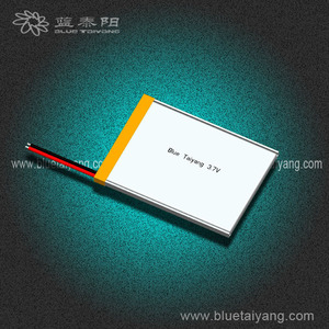 flat battery 354358 1000mAh lithium ion battery material with CE certificate
