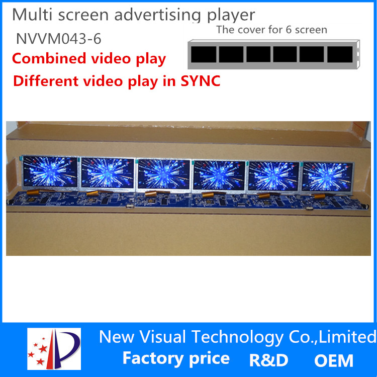 Best price of tft multiple screen video editing