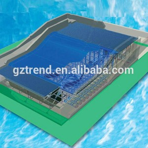 Wave Pool with Fiberglass Execiting Single or Double Skateboarding Surfing Machine