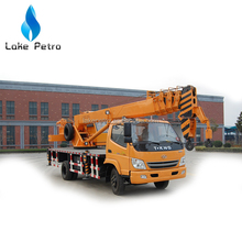 HIGH PERFORMANCE 10ton hydraulic TRUCK MOUNTED CRANE